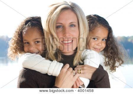Mother And Her Daughters