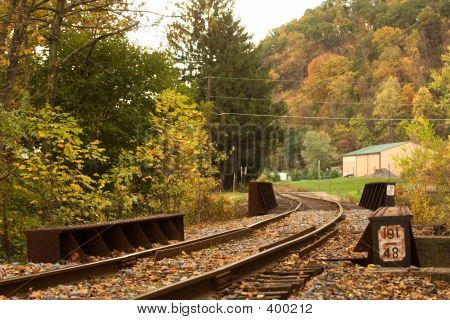 Old Rail Road. Pennsylvania. 1