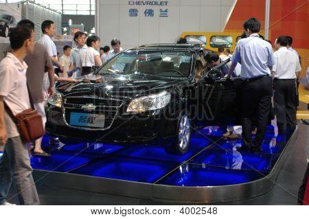 Visitors During Car Show - Shenzhen Moto