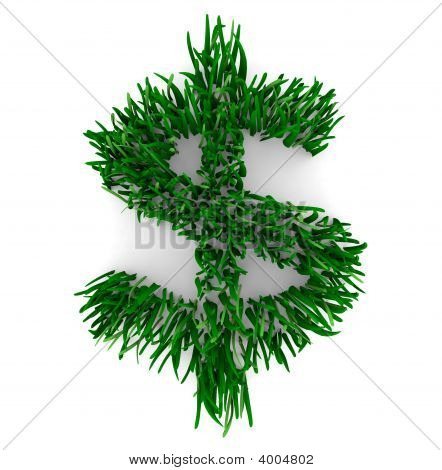 Grassy Dollar Sign