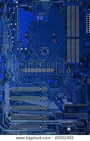 Motherboard closeup
