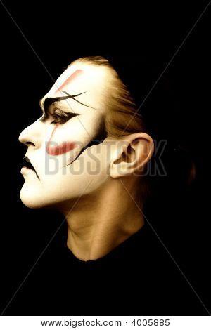 Portrait Of The Actor  Kabuki