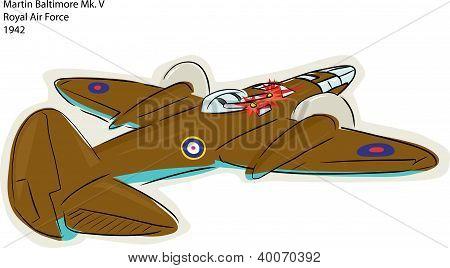 Martin Baltimore Mk. V Bomber