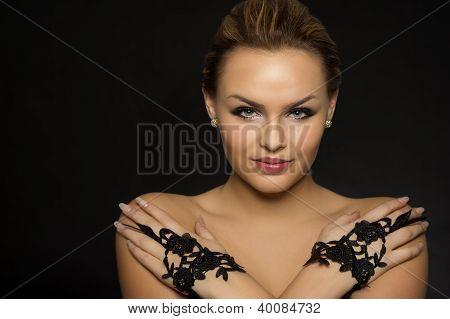 Portrait Of A Glamorous Woman