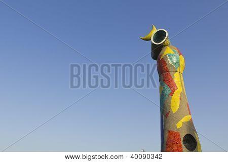 Dona I Ocell By Joan Miro