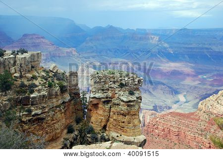 Grand Canyon scenic view of South Rim
