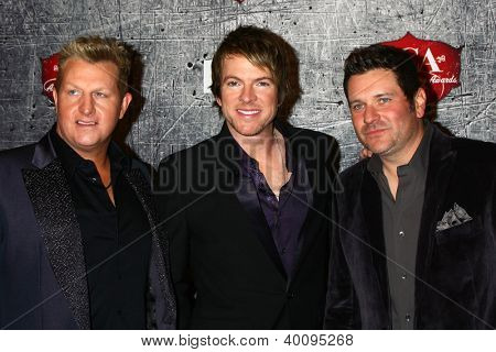 LOS ANGELES - DEC 10:  Rascal Flatts arrives to the American Country Awards 2012 at Mandalay Bay Resort and Casino on December 10, 2012 in Las Vegas, NV
