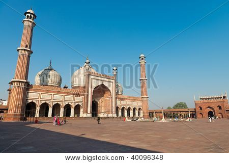 Jama Masjid Mosque, Old Dehli, India