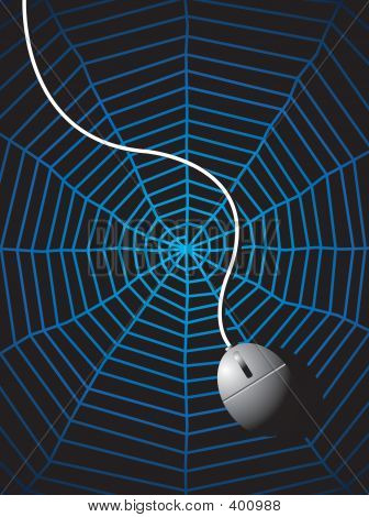 A Mouse On A Web