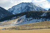 stock photo of beartooth  - absaroka beartooth mountains - JPG