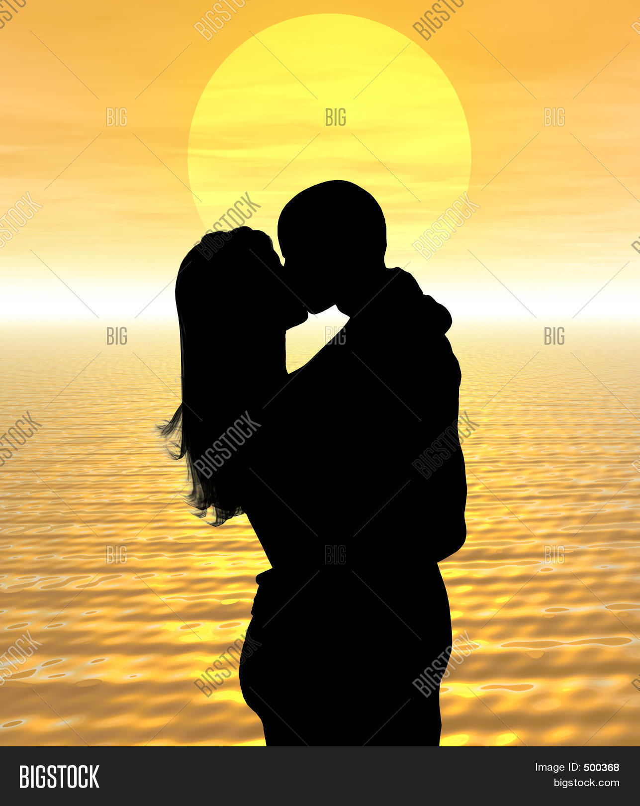 Two People Kissing In The Sunset | www.pixshark.com ...