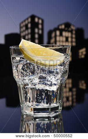 Metropolis Tom Collins Cocktail