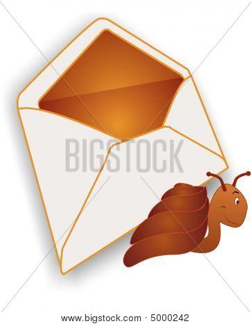 Snail Mail Illustration