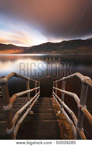 Loch Lomond Jetty