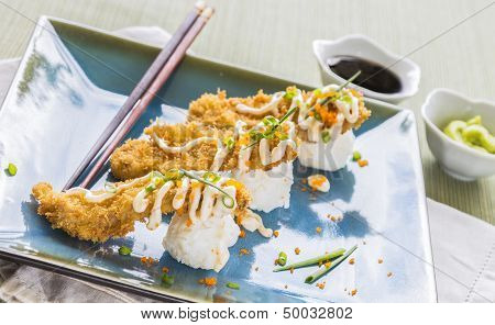Fried Breaded Sushi