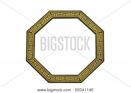 Traditional Chinese Octagon Window