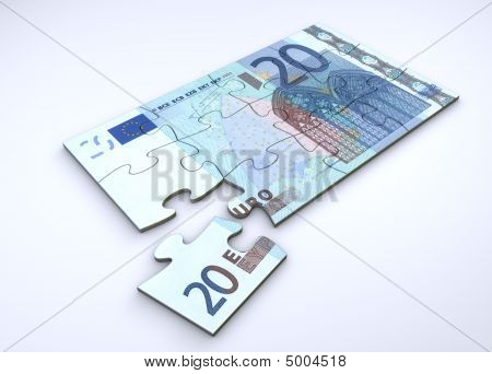 20 Euro Note Puzzle