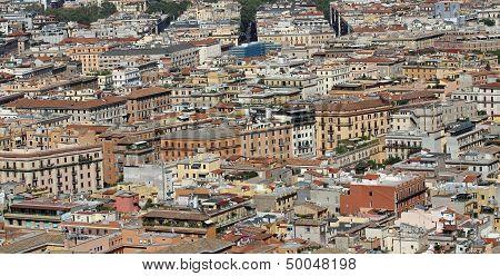 Aerial View Of Houses In The Metropolis