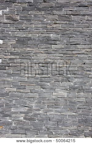 Slate Wall Background