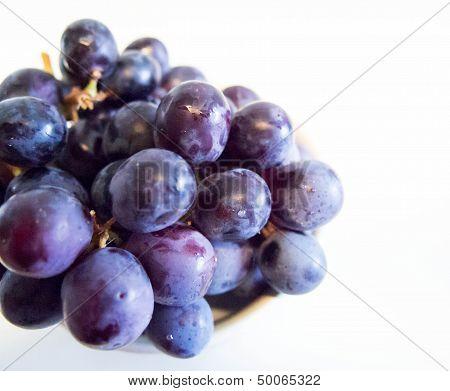 Sweet Purple Grapes