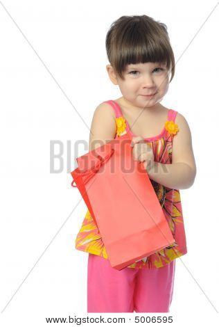 The Little Girl With Surprise Package