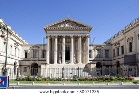 Courthouse of Montpellier, France, Languedoc-Roussillon