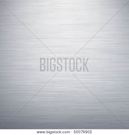 Texture Metallic With Gradient Mesh, Vector Illustration