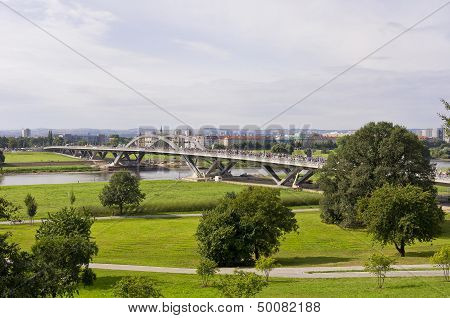 Opening Of The Waldschlosschen Bridge, Dresden, Germany