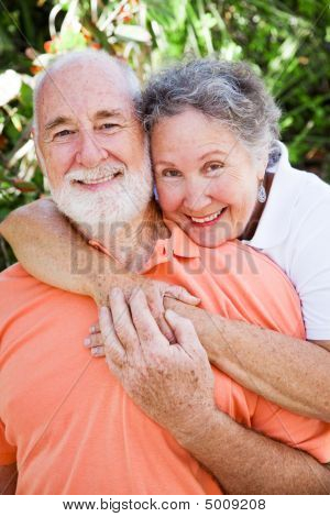 Loving Senior Couple
