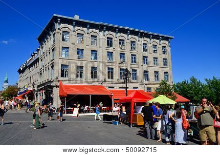 Jacques Cartier place Montreal