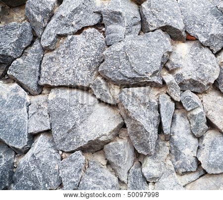 large granite stone of grey color as a background