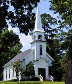 foto of alabama  - The Church in the Pines - JPG