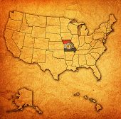 Missouri On Map Of Usa