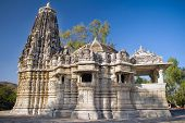 Ancient Sun Temple in Ranakpur, Rajasthan, India