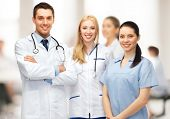 stock photo of male nurses  - healthcare and medical  - JPG