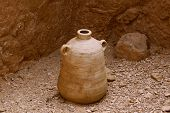 pic of jericho  - This is among the items being displayed while touring Masada Israel - JPG