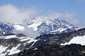 stock photo of olympic mountains  - Whistler  - JPG