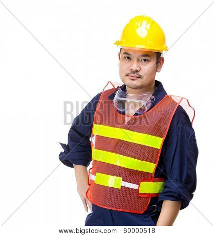 Asian technician portrait