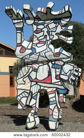 Clos Pegase winery in Napa Valley