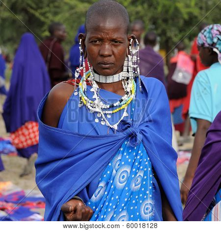 Masai Women In Africa