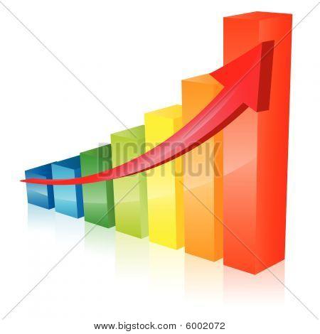 Rainbow bars vector