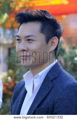 PALM SPRINGS, CA - JAN 5: Anthony Chen at the 10 Directors to Watch brunch at The Parker Hotel on January 5, 2014 in Palm Springs, California