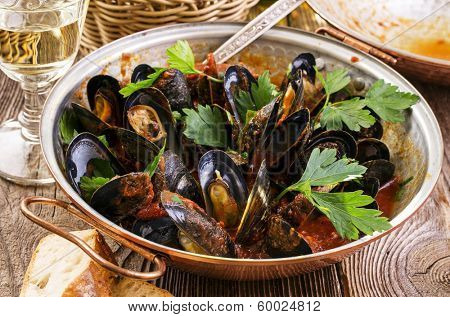 cataplana with mussels