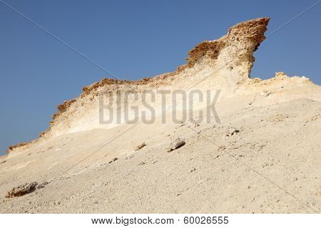Eroded Rocks In The Desert