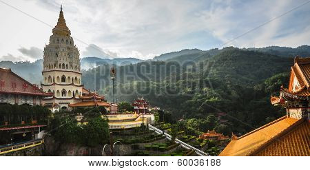 Temple In George Town, Penang, Malaysia