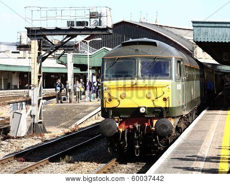 Class 47 Brush Sulzer Type 4 at Plymouth Station