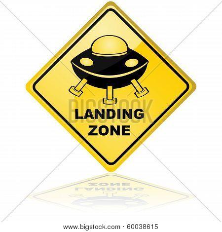 Spaceship Landing Zone