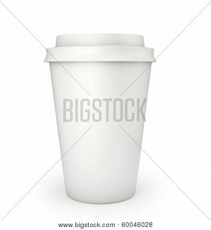 Blank Coffee Cup