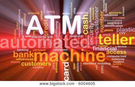 Atm Word Cloud Box Package