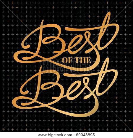 Best of the best - phrase